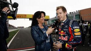 Tanja Bauer Sky TV Vettel 2011