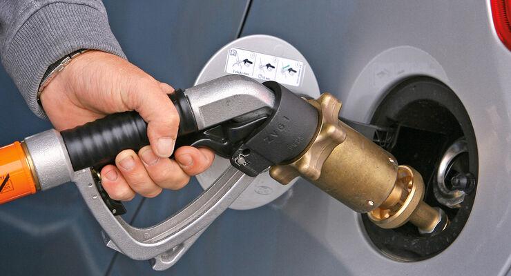 Tanken, Autogas