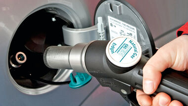 Tanken, Erdgas