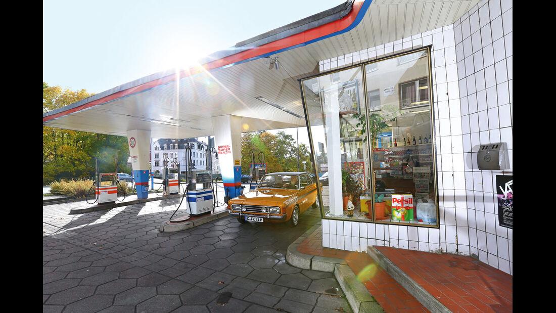 Tankstelle, Wuppertal