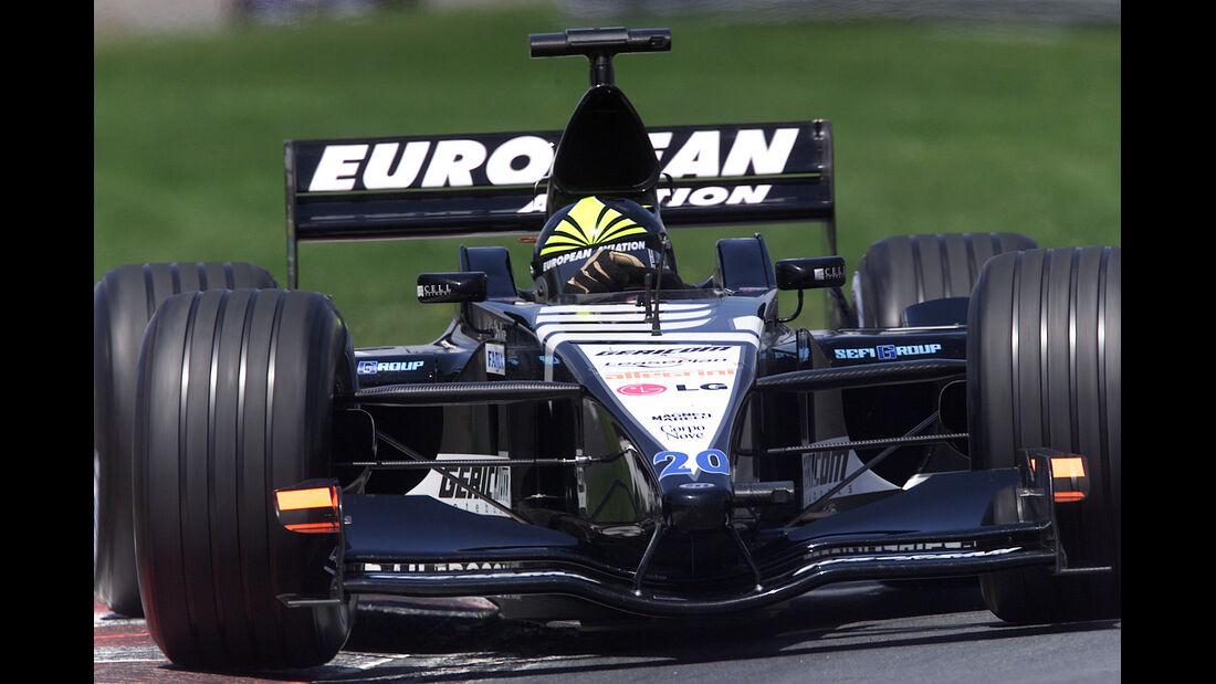 Tarso Marques - Minardi - GP Kanada 2001