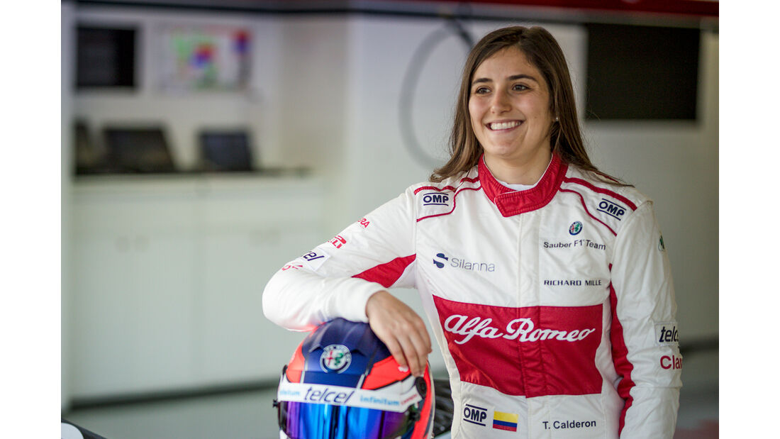 Tatiana Calderon - Sauber  - Formel 1 - GP Mexiko - 26. Oktober 2018