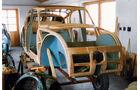 Tatra T 77a,  Holzgerippe