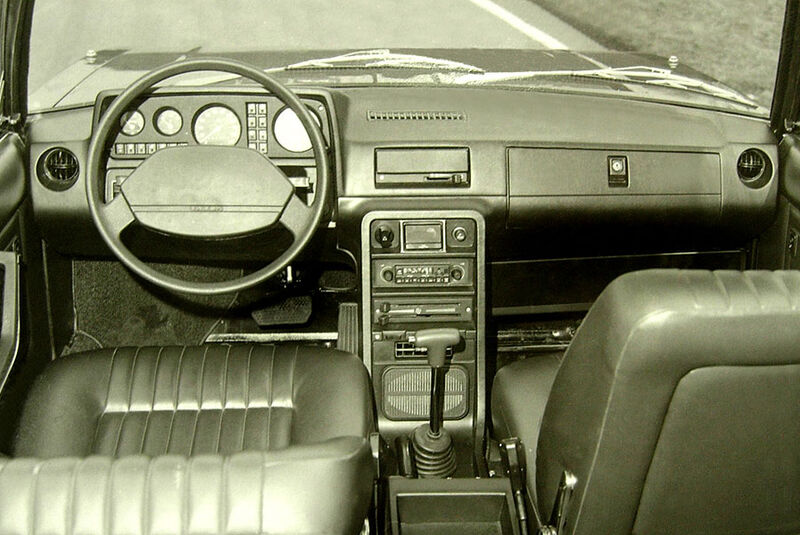 Tatra-T613K 1984 Cockpit