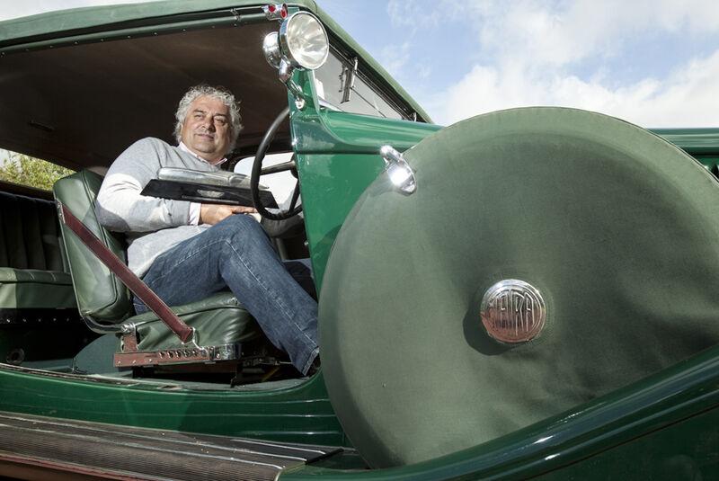 Tatra T80, Frans van Haren, Fahrersitz