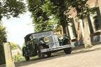 Tatra T80, Seitenansicht, Ersatzrad