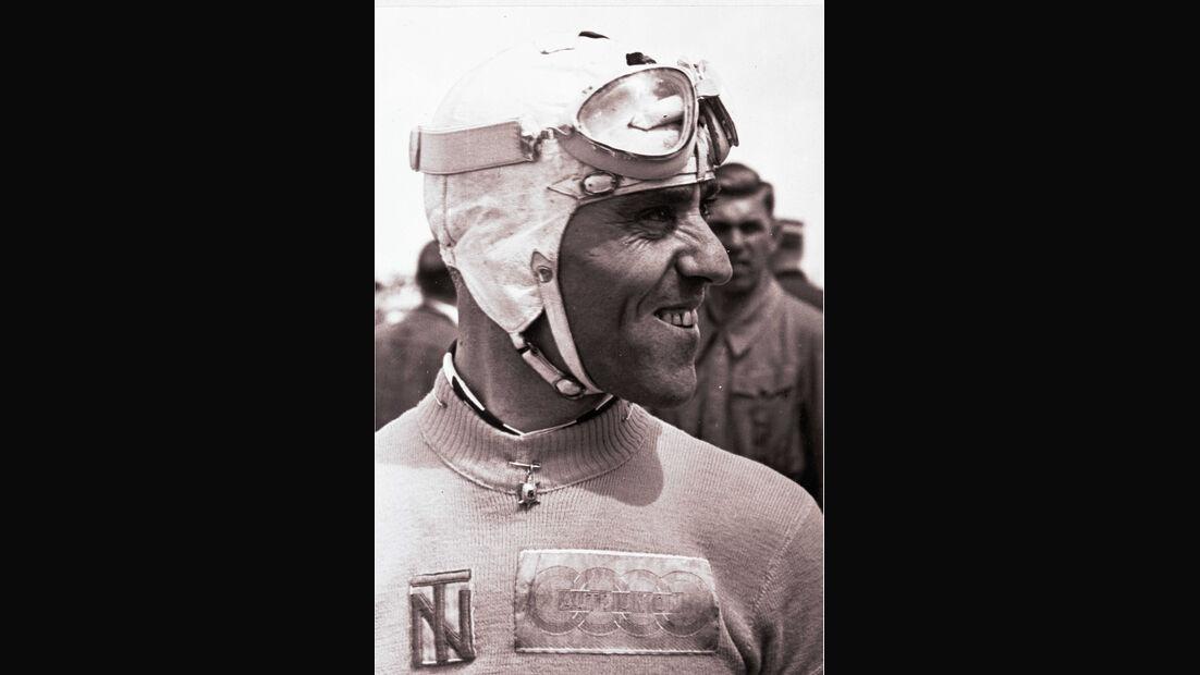 Tazio Nuvolari, Portrait