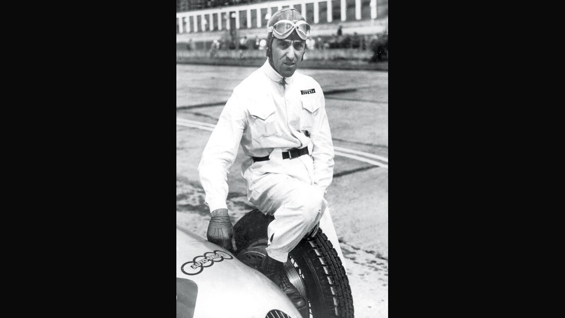 Tazio Nuvolari, Sieger Eifelrennen 1933