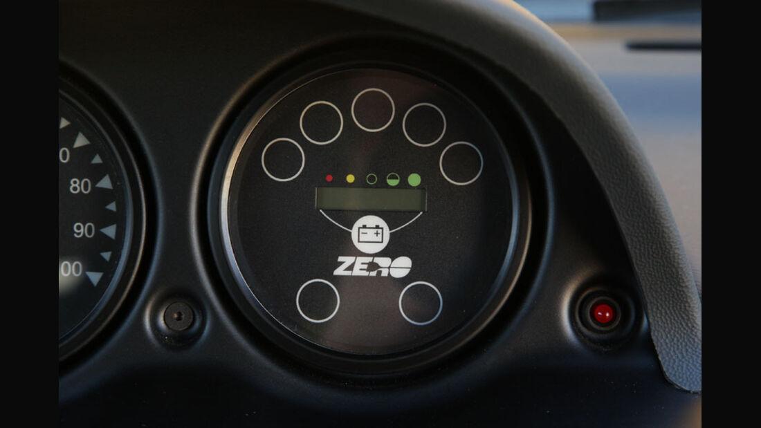 Tazzari Zero, Instrumente