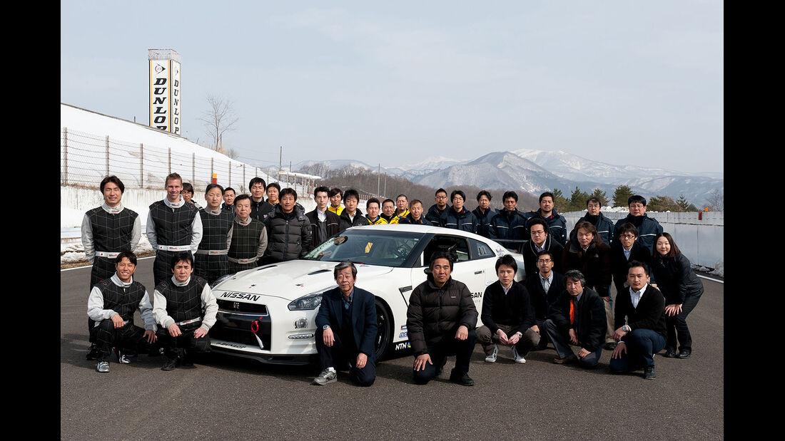 Team Nissan GT-R 24h-Rennen