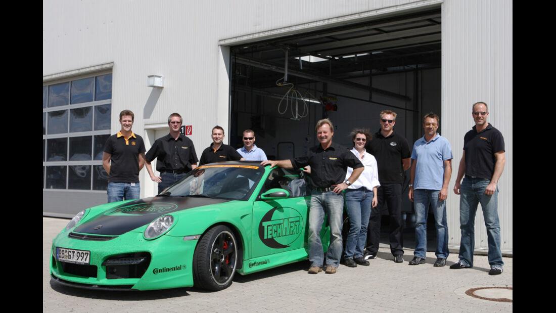 Team Projekt Eventreifen Teachart-Porsche GT