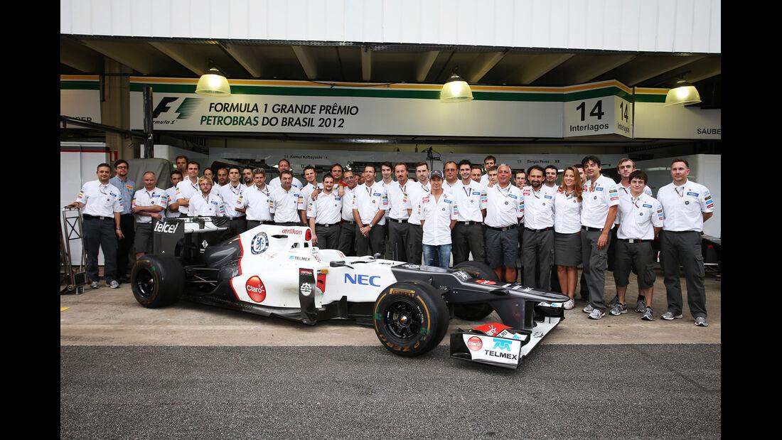 Team Sauber GP Brasilien 2012