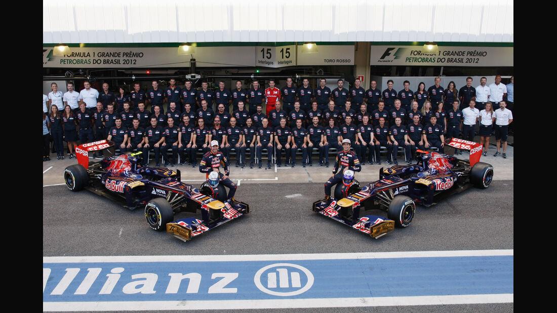 Team Toro Rosso GP Brasilien 2012