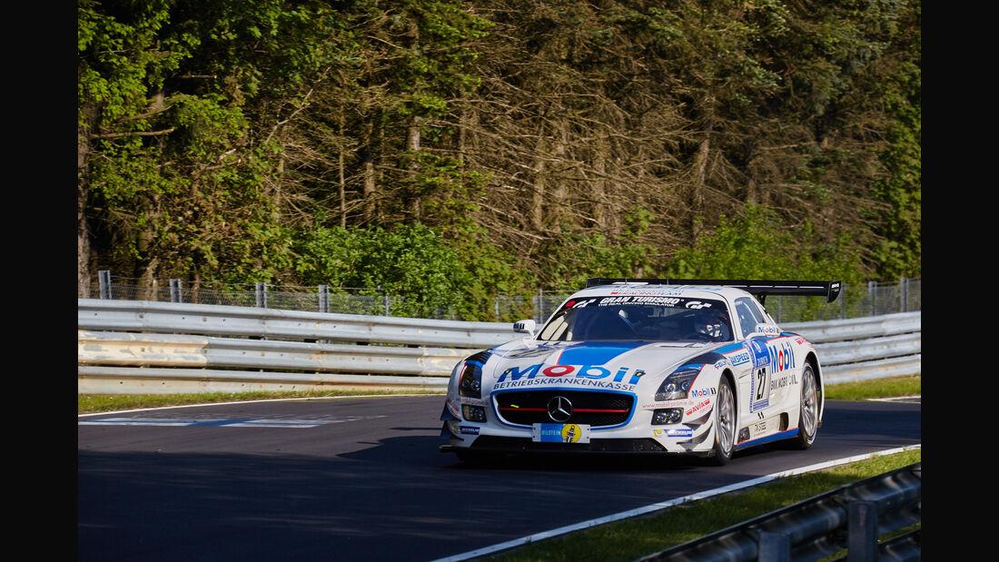 Team Zakspeed - Mercedes SLS AMG GT3 - #27 - 24h-Rennen Nürburgring 2015 - Top-30-Qualifying