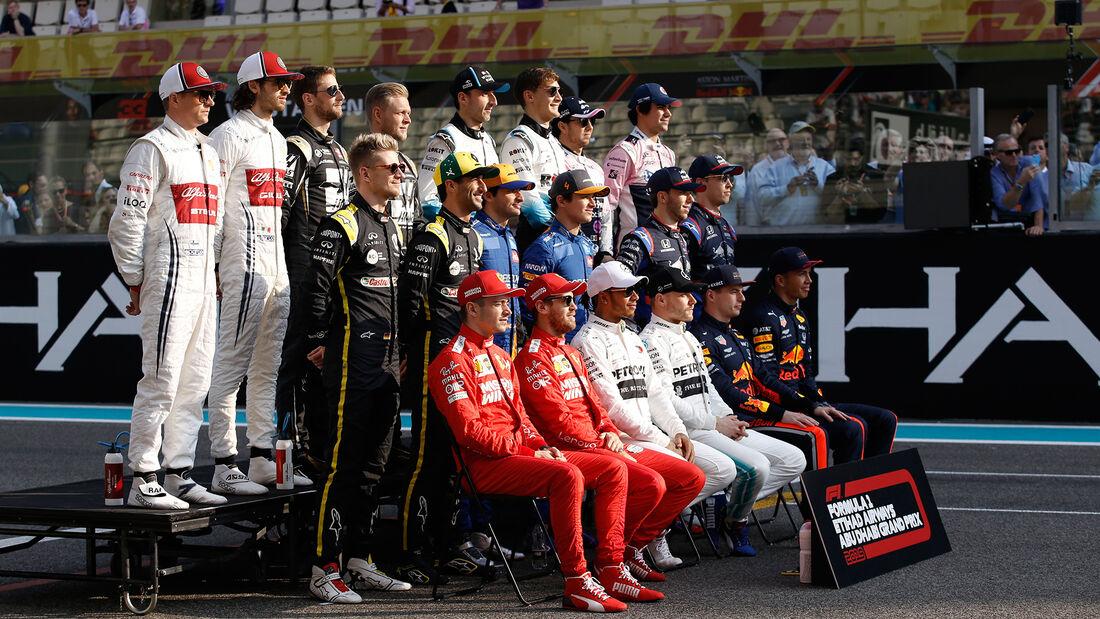 Teamfoto - GP Abu Dhabi 2019 - Rennen