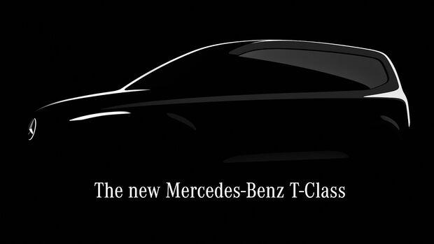 Teaser Mercedes T-Klasse