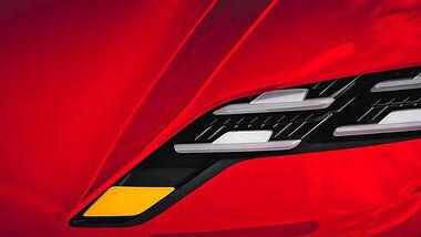 Teaser Porsche E-GT-Rennwagen