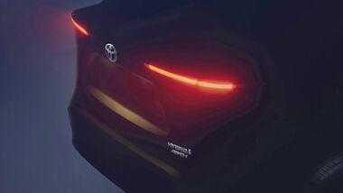 Teaser Toyota B-SUV