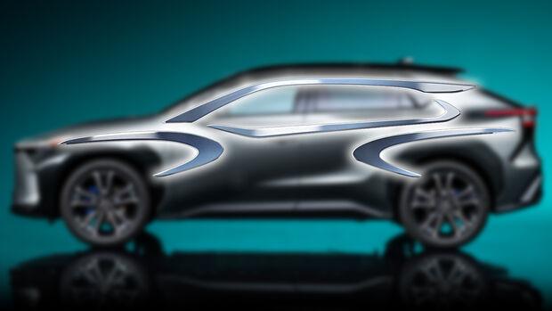 Teaser Toyota Crossover 2021