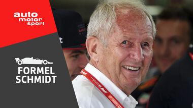 Teaserbild Formel Schmidt Podcast Folge 3 Helmut Marko