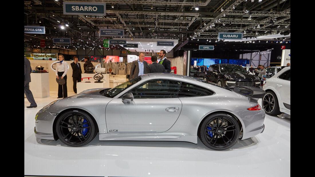 Techart 911 Carrera 4 GTS - Tuning - Sportwagen - Genfer Autosalon 2015