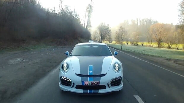 Techart 911 Turbo S VideoScreen