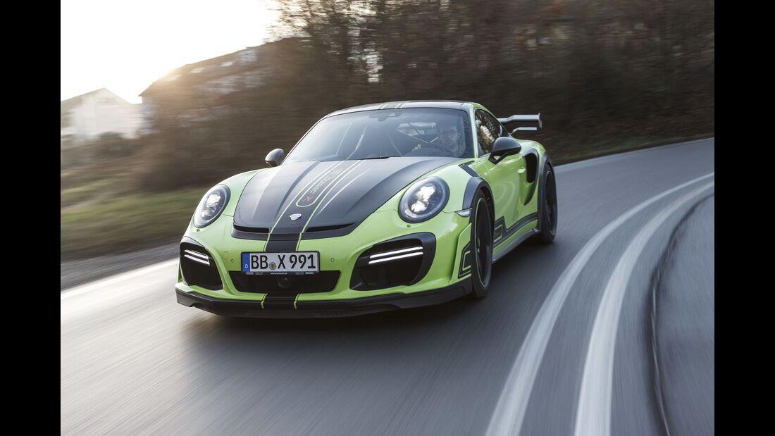 Techart GT Street R, Fahrbericht, Tuning-Test