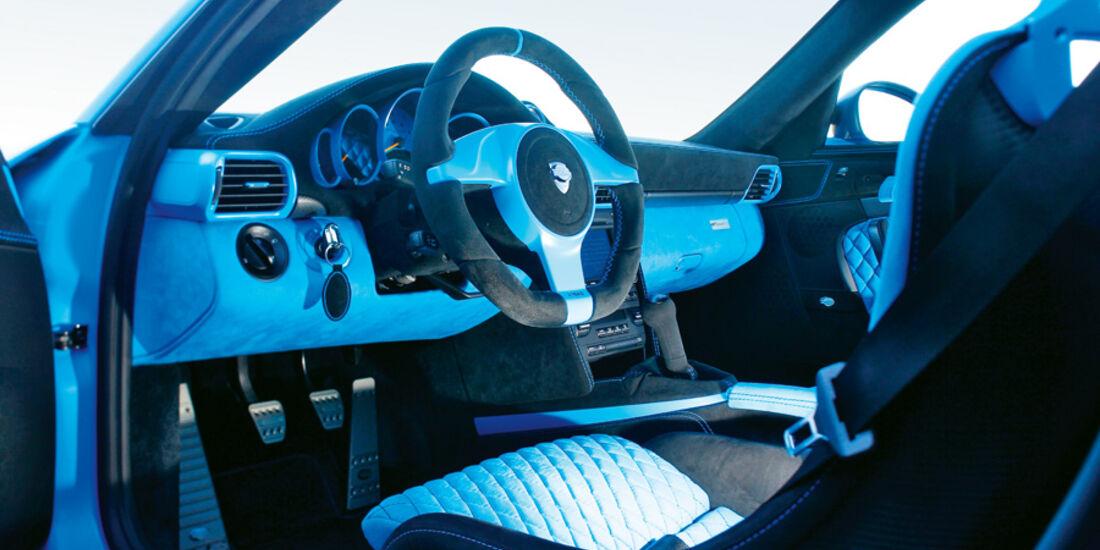 Techart GTStreet RS, Cockpit