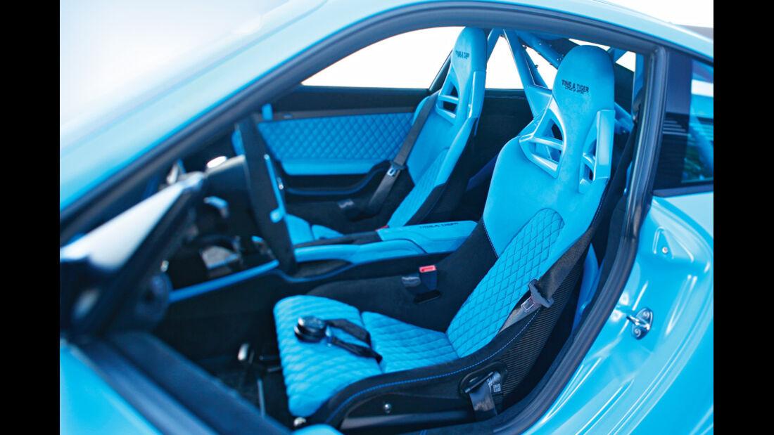 Techart GTStreet RS, Fahrersitz