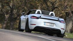 Techart-Porsche 718 Boxster S, Heckansicht