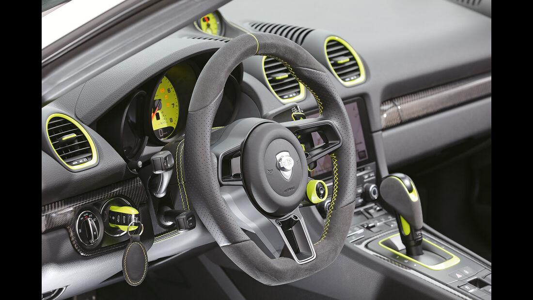 Techart-Porsche 718 Boxster S, Lenkrad