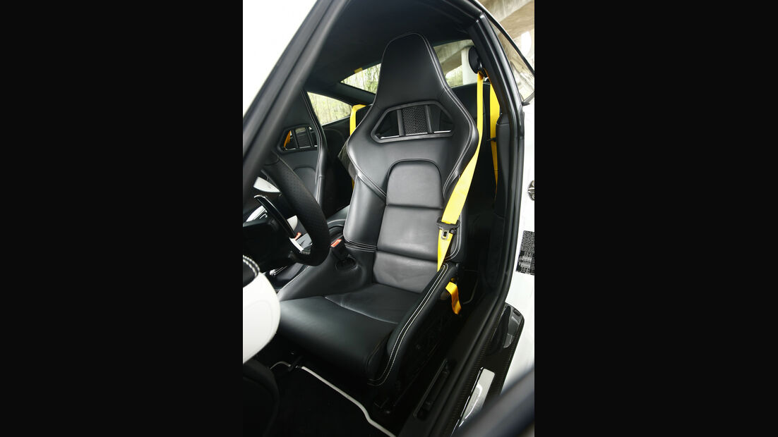 Techart-Porsche 911 Turbo Fahrersitz