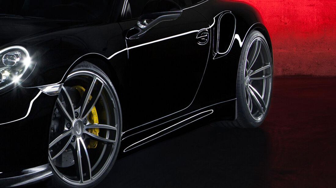 Techart Porsche 911 Turbo Felgen