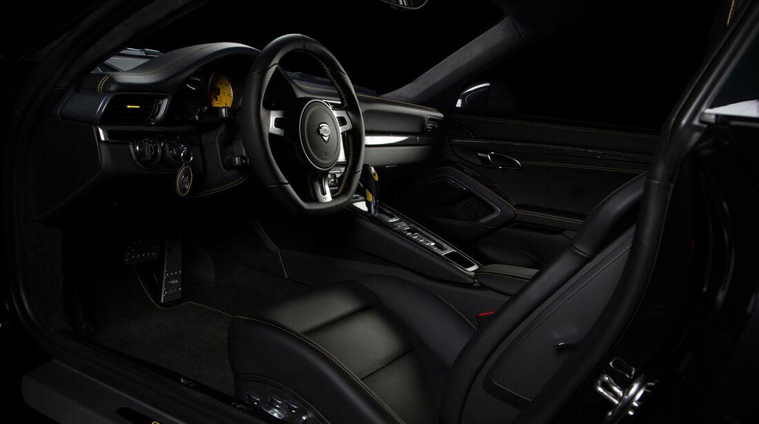 Techart Porsche 911 Turbo Innenraum