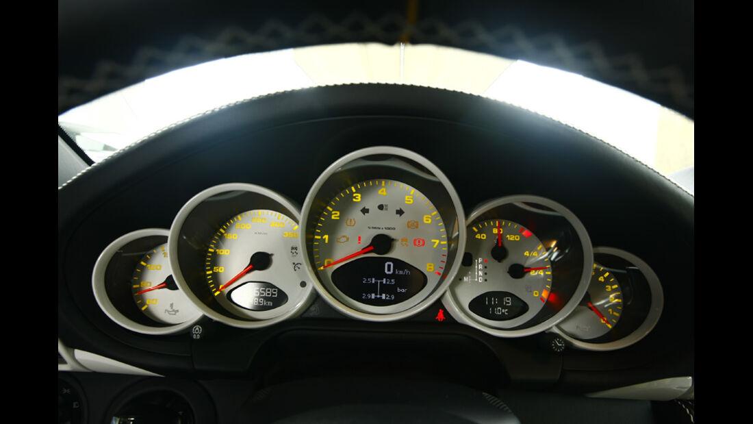 Techart-Porsche 911 Turbo Instrumentenbrett