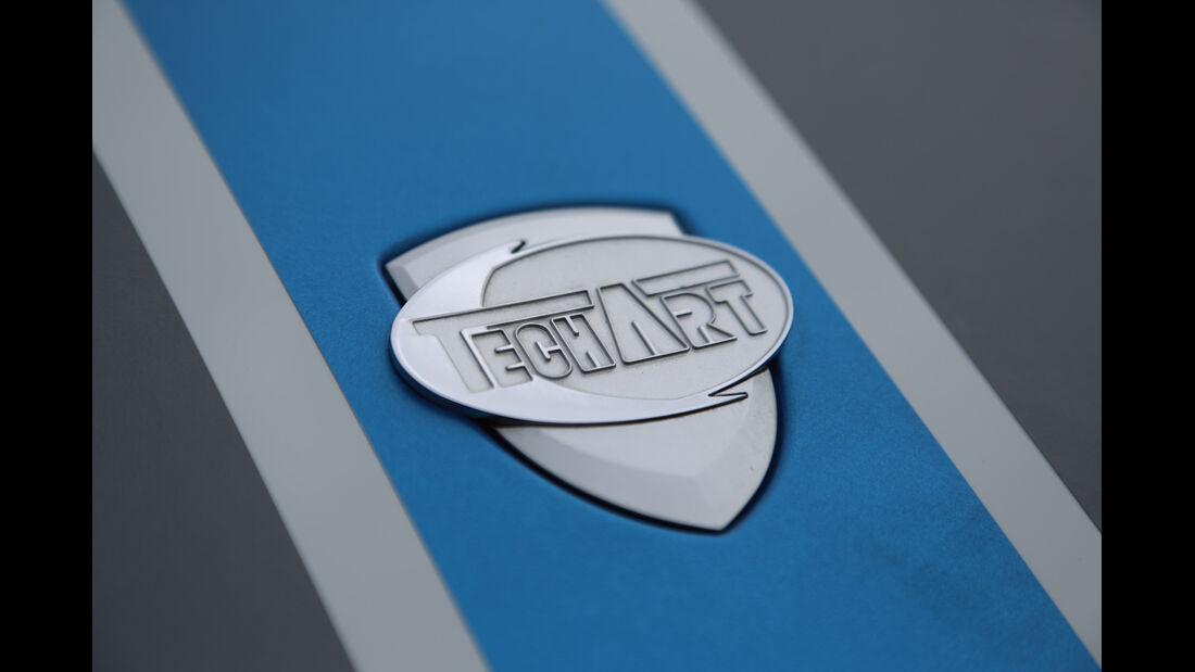 Techart Porsche 911 Turbo S, Emblem, Firmenname