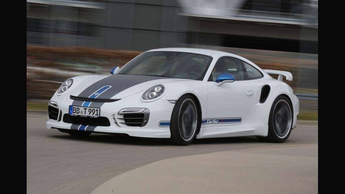 Techart Porsche 911 Turbo S, Frontansicht