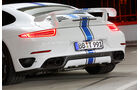 Techart-Porsche 911 Turbo S, Heck, Auspuff, Endrohre