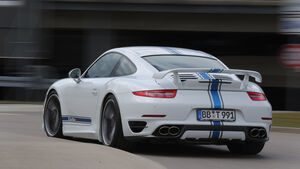 Techart Porsche 911 Turbo S, Heckansicht
