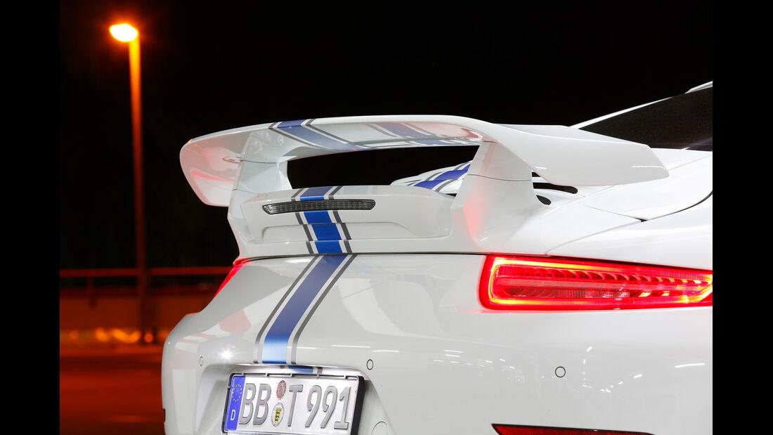 Techart-Porsche 911 Turbo S, Heckspoiler, Rückleuchte