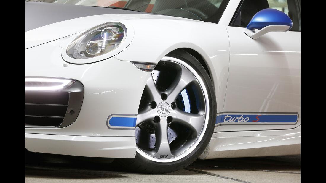 Techart-Porsche 911 Turbo S, Rad, Felge, Bremse