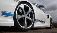 Techart Porsche 911 Turbo S, Rad, Felge, Bremse