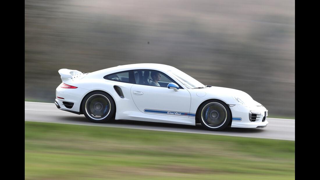 Techart Porsche 911 Turbo S, Seitenansicht