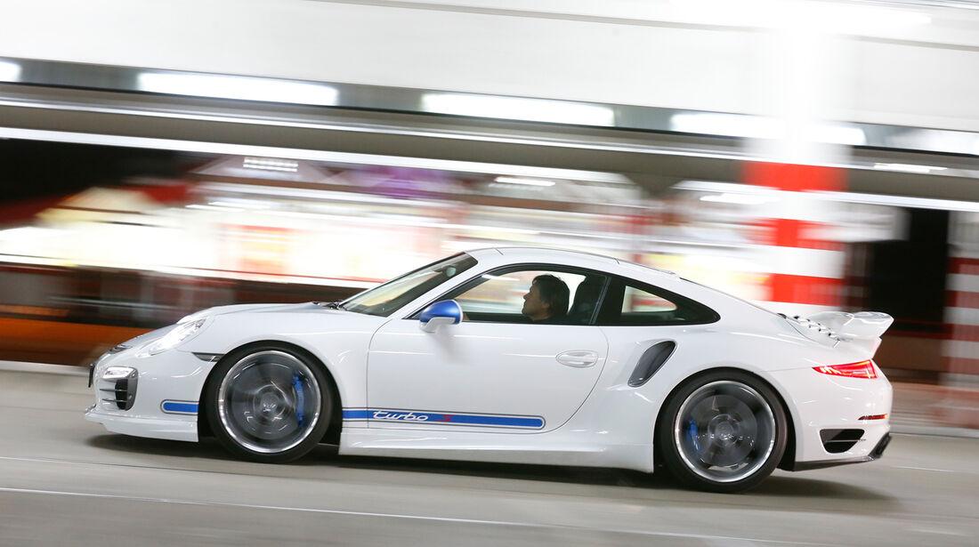 Techart-Porsche 911 Turbo S, Seitenansicht