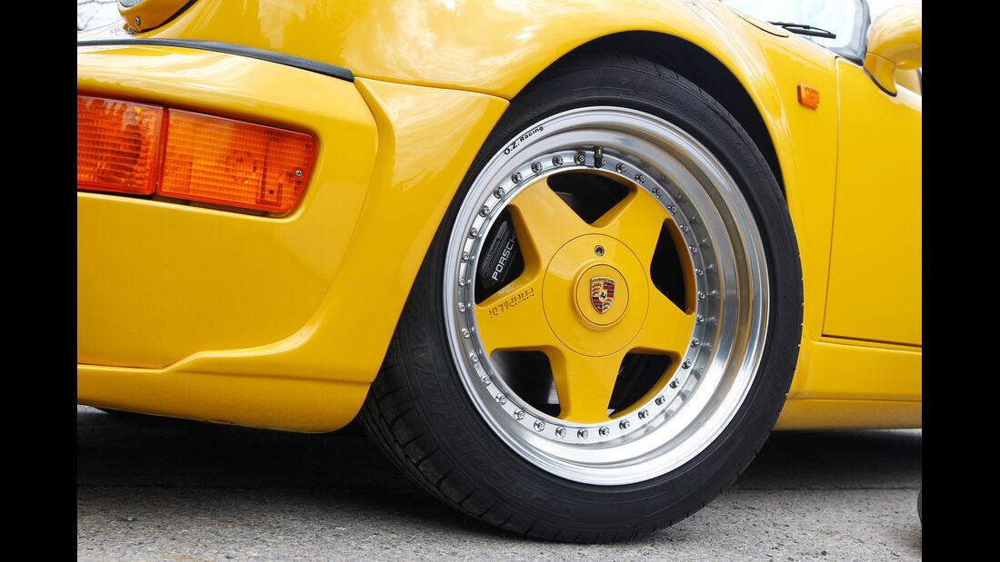 Techart-Porsche 964 Speedster, Rad, Felge
