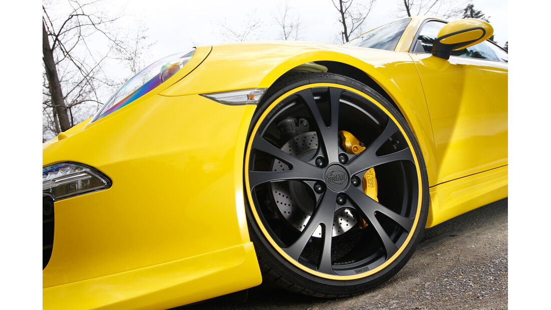 Techart-Porsche 991 Carrera S, Rad, Felge