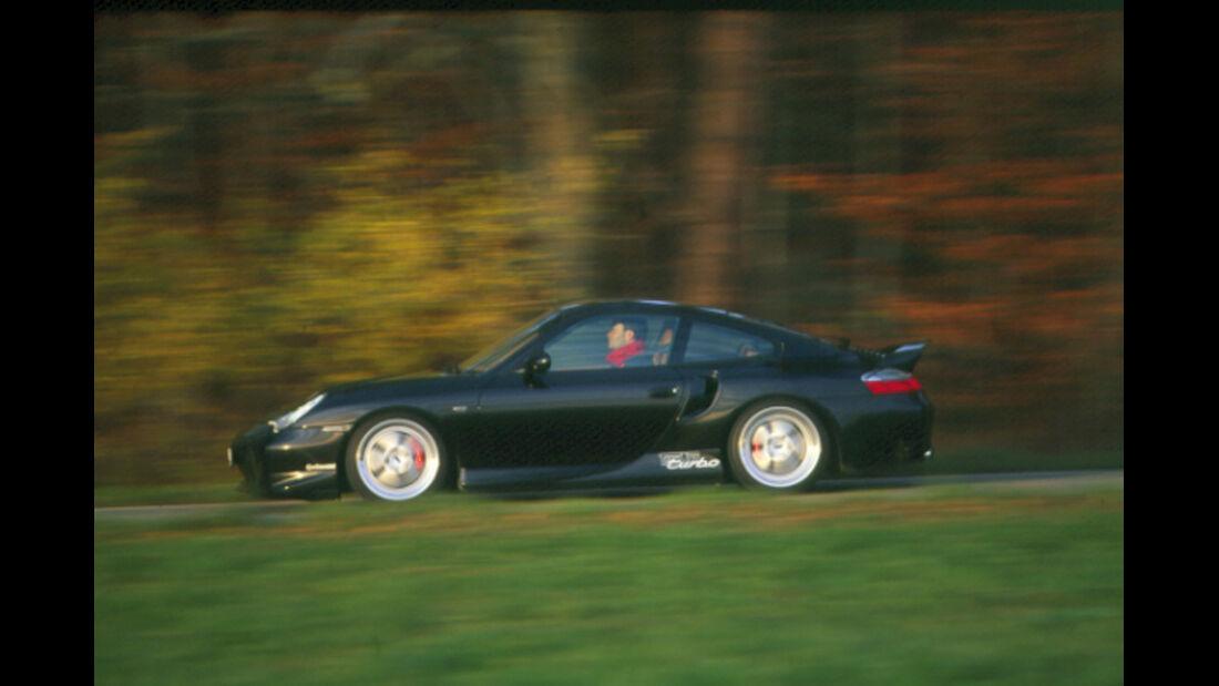 Techart-Porsche 996, Seitenansicht