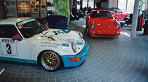 Techart-Porsche, Ausstellungsraum