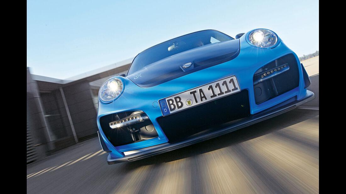 Techart-Porsche Gtstreet RS, Frontansicht