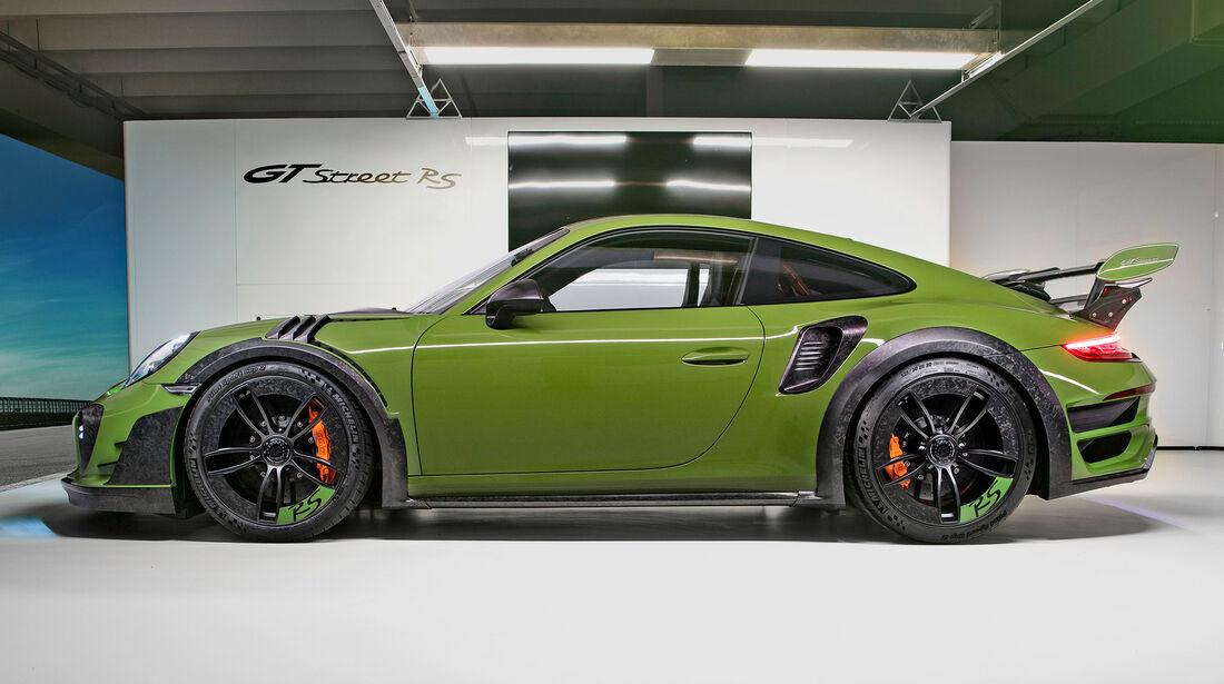 Techart-Porsche Gtstreet RS - Tuning - Supersportler - sport auto Award 2019